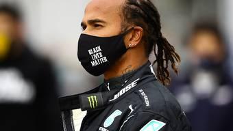 Lewis Hamilton steht nach seinem 91. Grand-Prix-Sieg nun auf einer Stufe mit Michael Schumacher
