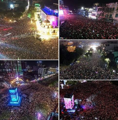 Diese Bilder aus Ho Chi Minh City erhielt Peter von einem Freund.
