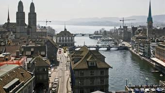 Stadt Zürich. (Archiv)