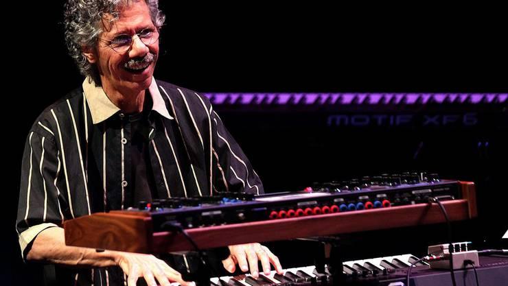 Chick Corea wird am Jazzfestival Offbeat in Basel auftreten.