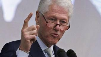 Bill Clinton am UN-Aids-Gipfel in New York
