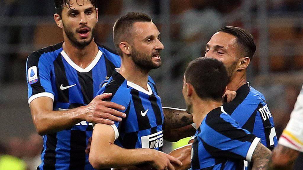 Inter Mailand mit lockerem 4:0-Startsieg