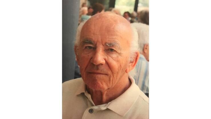 Willi Müller wird seit Donnerstagabend vermisst.