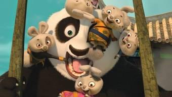 Entzückt die Kinogänger in der ganzen Schweiz: Kung Fu Panda