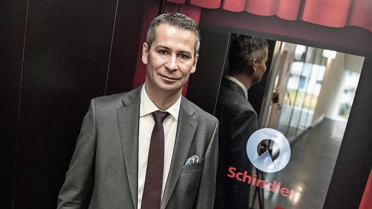 Schindler-Schweiz-CEO Patrick Hess.