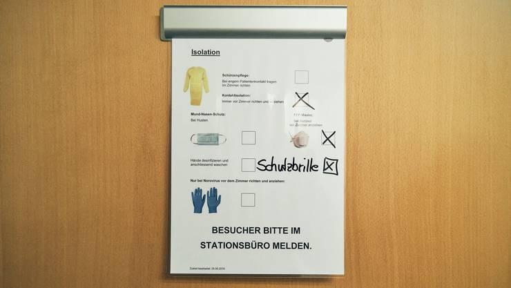 Die Schweizer Spitäler rüsten sich für das Corona-Virus.
