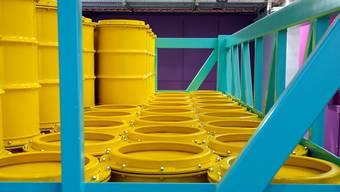 Der Atommüll wird bis zur Inbetriebnahme eines geologischen Tiefenlagers weiterhin im Zwischenlager in Würenlingen aufbewahrt.