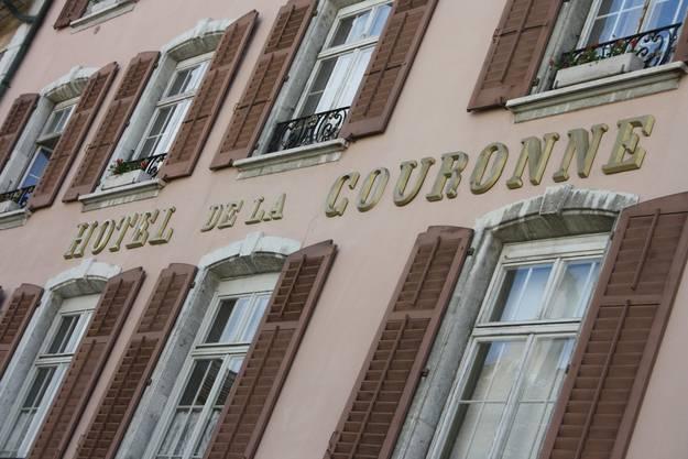 Die Nordfassade der «Krone». (Foto: Wolfgang Wagmann)