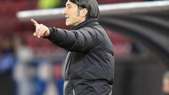 Murat Yakin darf das Team am Samstag gegen Luzern von der Bank aus führen