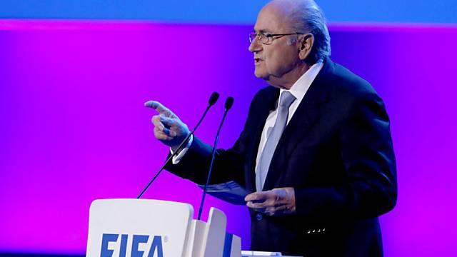 FIFA-Präsident Sepp Blatter während des Kongresses in Sâo Paulo