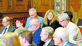 Christine Dietrich (oben rechts) stand gestern im Fokus der Synode.