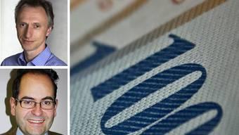 Mit Wallraff (unten) und Dehio in diesem Jahr sind bisher insgesamt zwölf ERC Grants nach Basel gegangen.