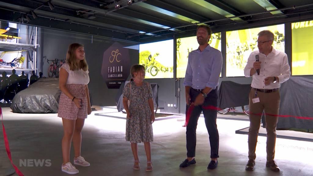 «Fabian Cancellara»: Sonderausstellung im Verkehrshaus Luzern eröffnet