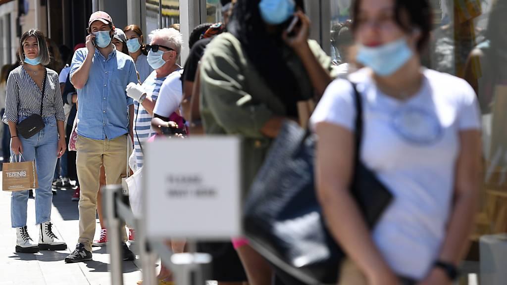 Corona-Krise kostet Grossbritannien über 600'000 Jobs