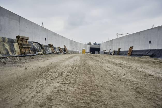 Impressionen vom Baustellenrundgang A1-Zubringer Lenzburg.