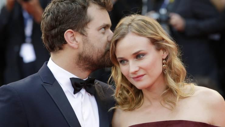 Sind seit zehn Jahren ein Paar: Diane Kruger und Joshua Jackson. (Archivbild)