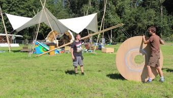 Es dauert noch ein paar Monate, bis beim Föhrenhof die ersten Zelte aufgebaut werden (Foto von 2017), aber die Vorfreude wächst bereits.