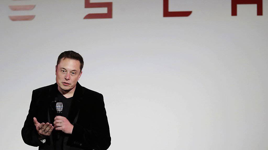 Tesla-Chef: «Wir sind über den Berg»