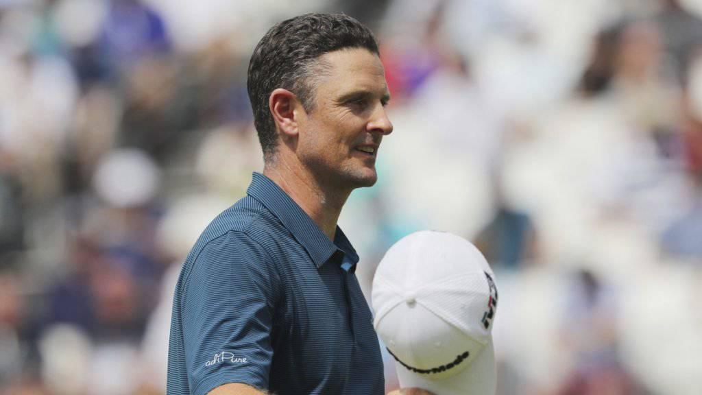 Justin Rose empfängt als neue Nummer 1 den Lohn für sein beständiges Golf