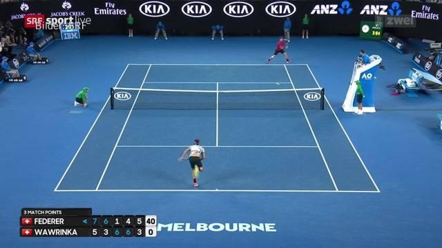 Federer im Final