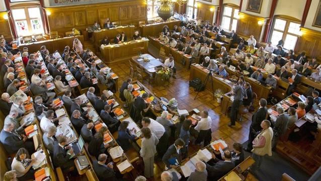 Die Altparteien verlieren an Anziehungskraft. Parteien wie die GLP trumpfen in Zeiten des Klimawandels auf. Bild: Kantonsrat Zürich