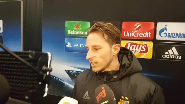Luca Zuffi: «In der zweiten Halbzeit waren wir zu defensiv.»