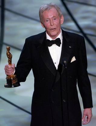 Im März 2003 erhält O'Toole einen Oskar.