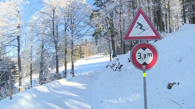 Wer hat den Skipisten-Schnee geräumt?