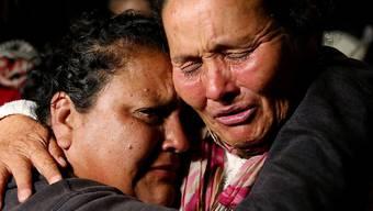 Der jahrzehntelange Guerilla-Krieg in Kolumbien mit etwa einer Viertelmillion Toten und Zehntausenden Vermissten hat viel Leid verursacht (Aufnahme vom November 2016 in der Hauptstadt Bogotá).