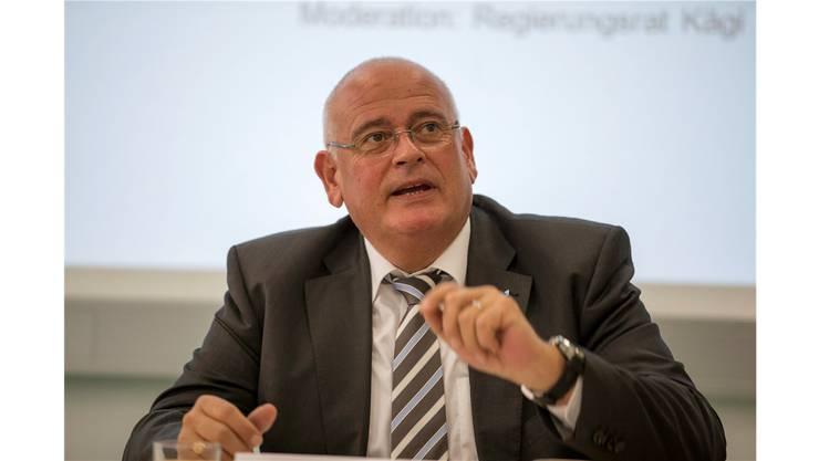 Markus Kägi: Der Zürcher Baudirektor hält die Energiepolitik des Bundes für unrealistisch.KEYSTONE