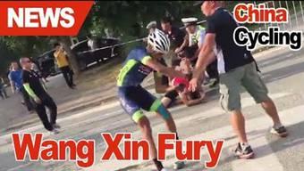 Wang Xin dreht durch