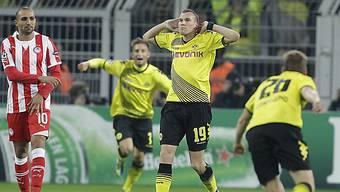 Kevin Grosskreutz schoss Dortmund zum ersten Sieg