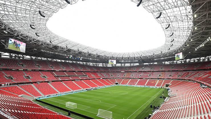Im Ferenc Puskas Stadion in Budapest will die UEFA am Super Cup erstmals wieder vor Zuschauern spielen