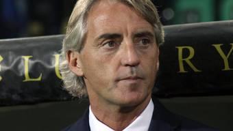 Muss Inter Mailand nach vier sieglosen Partien wieder in die Erfolgsspur bringen: Trainer Roberto Mancini