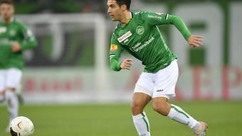 Victor Ruiz war mit seinen zwei Toren St. Gallens Matchwinner