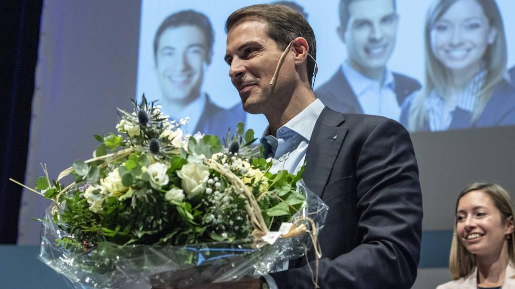 Thierry Burkart ist neuer Präsident der FDP Schweiz