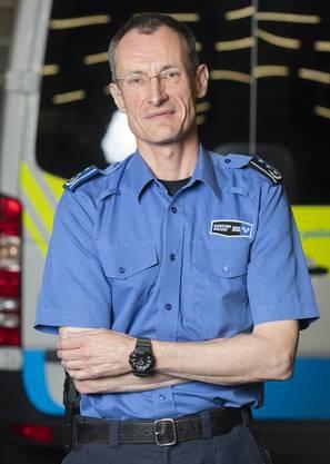 Der Aargauer Polizeikommandant Michael Leupold.