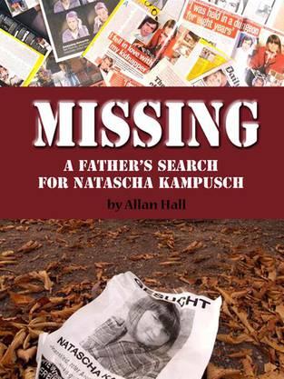 Das Buch-Cover: «Vermisst. Die Suche des Vaters nach Natascha Kampusch»