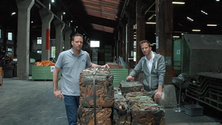 Die Firma von Patrik und David Kurz handelt in dritter Generation mit Altmetallen. Ihre Konkurrenz wendet sich aus Zürich ab.