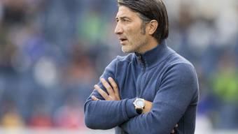 Erlebte gegen seinen ehemaligen Arbeitgeber GC einen ereignisarmen Nachmittag: Sion-Coach Murat Yakin