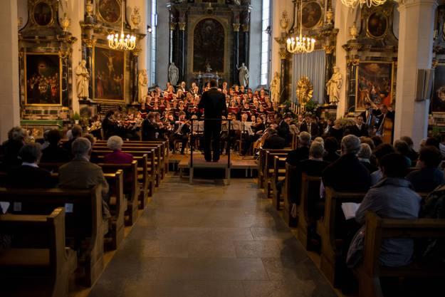Der Schola Cantorum Wettingensis Chor präsentiert das Oratorium Paulus