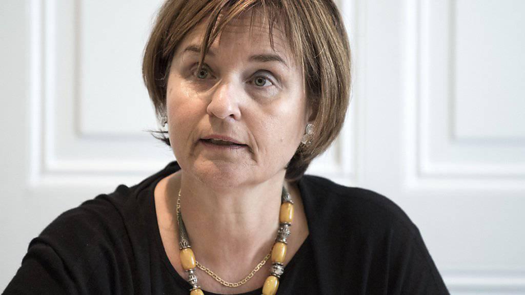 Die Tessiner SP-Nationalrätin Marina Carobbio will nicht für das Präsidium des Gewerkschaftsbundes kandidieren. (Archivbild)