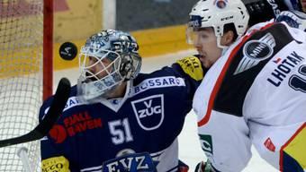 EVZ-Torhüter Tobias Stephan feierte gegen Ambri seinen 6. Shotout