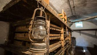In diesem Keller soll der «Joggeligeist» in eine Flasche gesteckt und eingemauert worden sein.