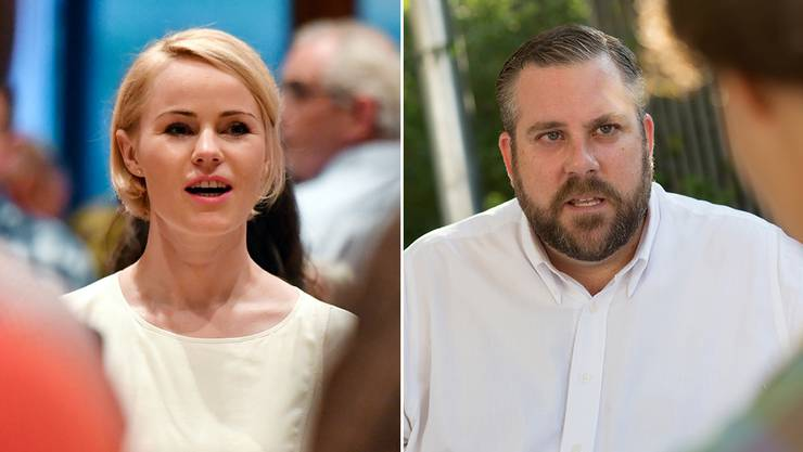 Natalie Rickli und Thomas Vogel sind die Favoriten auf die Regierungsratssitze