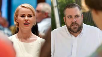 Natalie Rickli und Thomas Vogel gehen mit den besten Aussichten ins Rennen um die freien Sitze in der Zürcher Regierung.