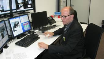 Daniel Gerkens, Leiter des Gebrauchstauglichkeitslabors