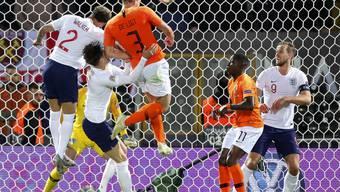 Die Wende in Guimarães: Matthijs de Ligt gelingt in der 73. Minute nach einem Corner der Ausgleich zum 1:1
