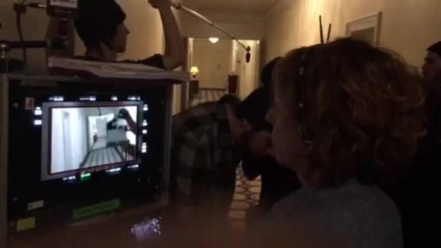 Zweites Video vom Tatort-Dreh