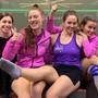 Ein starkes Fricktaler Team: Caroline Bachem, Nadia Pfister, Jasmin Ballmann und Nadine Frey (v.l.).